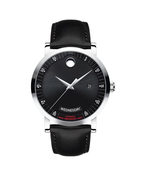 MOVADO Red Label0606845 – Men's 42 mm automatic day/date - Front view