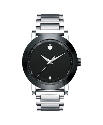 MOVADO Museum Sport0606604 – Men's 42 mm bracelet watch - Front view