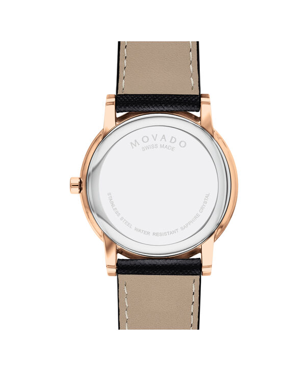 MOVADO Museum Classic0607266 – Men's 42 mm strap watch - Back view