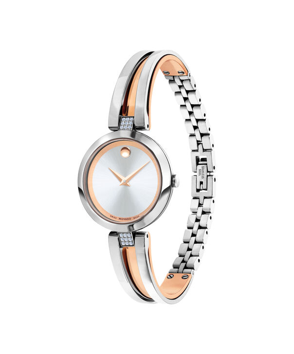 MOVADO Aleena0607152 – Women's 27 mm bangle watch - Side view