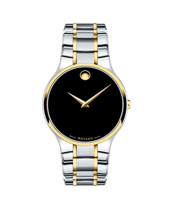 Movado | Serio Men's Two Tone Stainless Steel Bracelet Watch