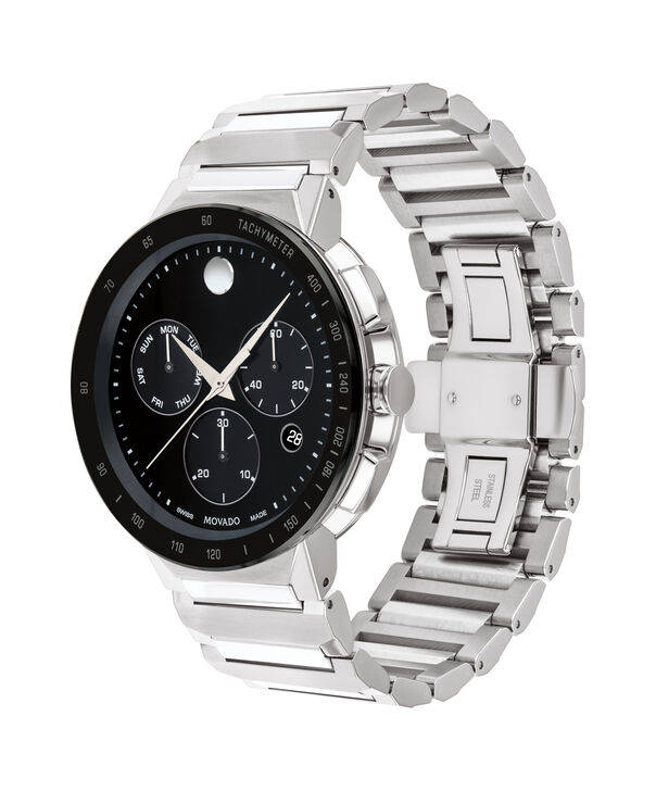 MOVADO Sapphire0607239 – Men's 43 mm bracelet chronograph - Side view