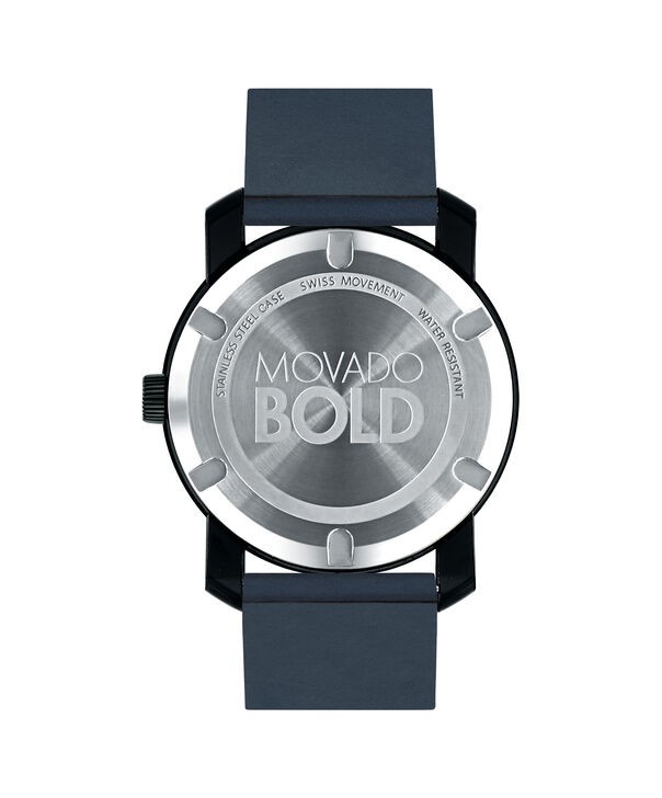 MOVADO Movado BOLD3600583 – 42 mm BOLD 2H TR90 on Strap - Back view