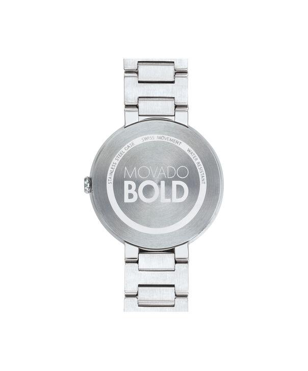 MOVADO Movado BOLD3600497 – 34 mm Metals bracelet watch - Back view