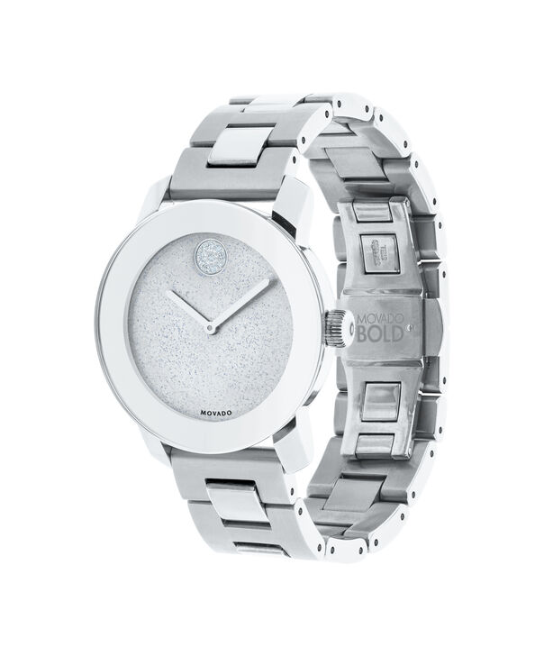 MOVADO Movado BOLD3600334 – 36 mm Metals bracelet watch - Side view