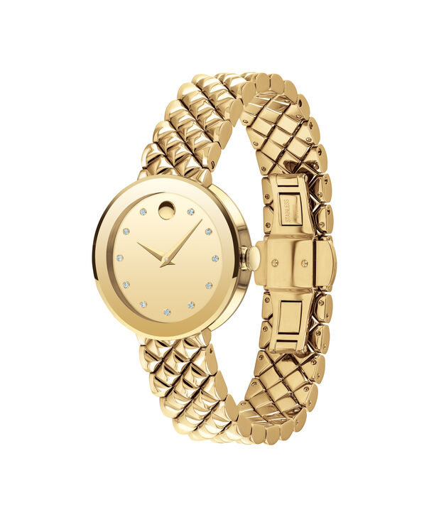 MOVADO Sapphire0607107 – Women's 30 mm bracelet watch - Side view