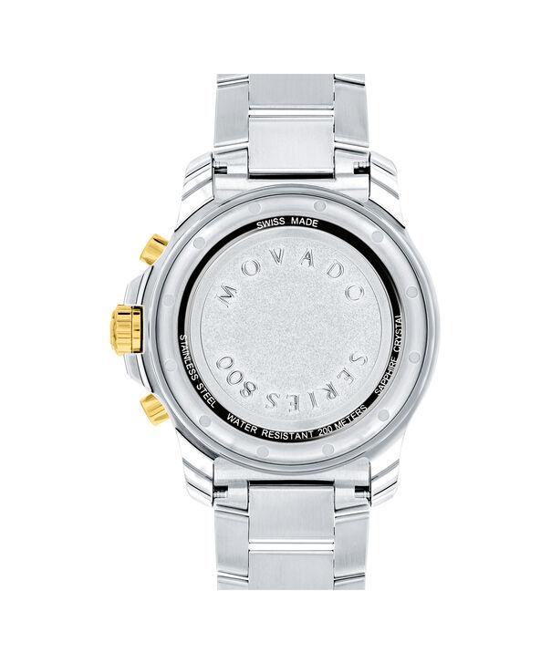 MOVADO Series 8002600146 – Men's 40 mm bracelet watch - Back view