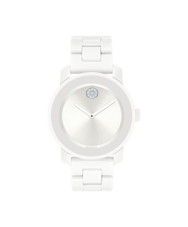 MOVADO Movado BOLD3600534 – 36 mm ceramic bracelet watch - Front view