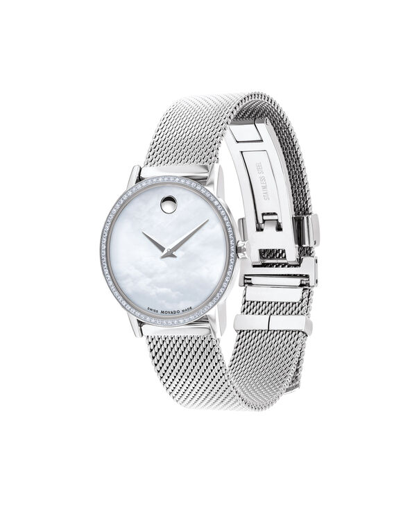 MOVADO Museum Classic0607306 – Women's 28 mm mesh bracelet watch - Side view
