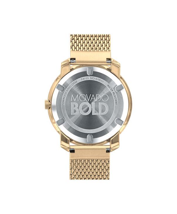 MOVADO Movado BOLD3600242 – 36 mm flat mesh bracelet watch - Back view