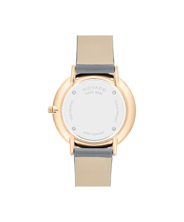 MOVADO Modern 470607337 – 35 mm Modern 47 on Strap - Back view