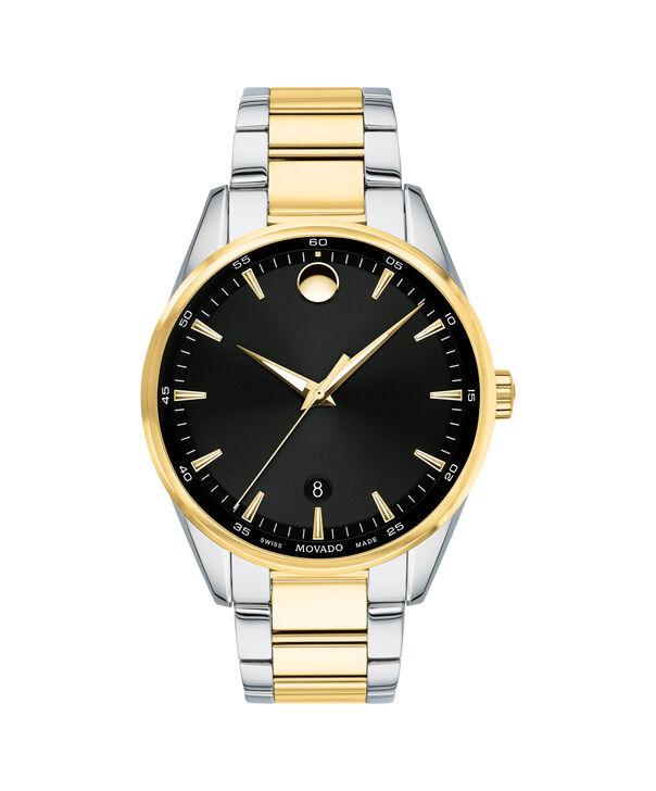 MOVADO Stratus0607245 – Men's 40 mm bracelet watch - Front view