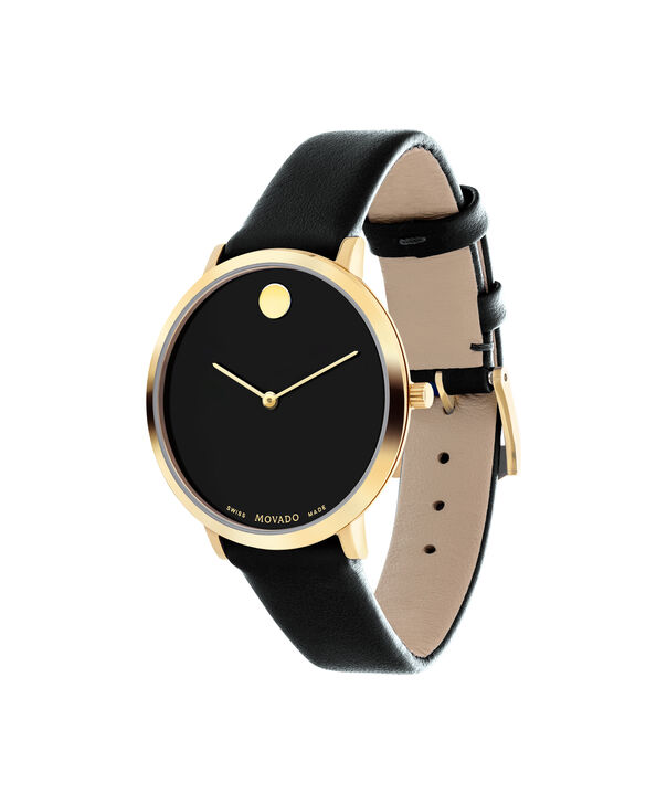 MOVADO 70th Anniversary0607137 – Mid-Size 35 mm strap watch - Side view