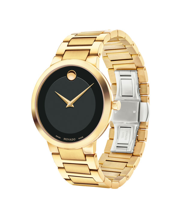 MOVADO Modern Classic0607121 – Men's 40 mm strap watch - Side view
