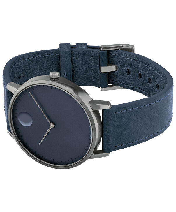 MOVADO Movado Face3640004 – Men's 41 mm strap watch - Side view