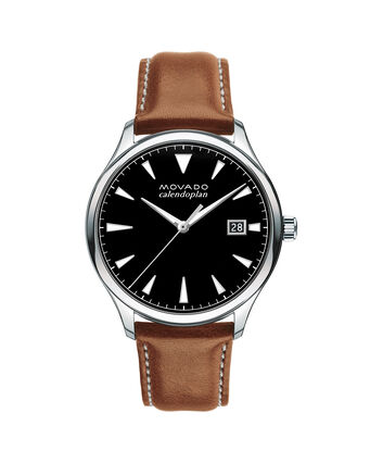 MOVADO Movado Heritage Series3650001 – Men's 40 mm strap watch - Front view