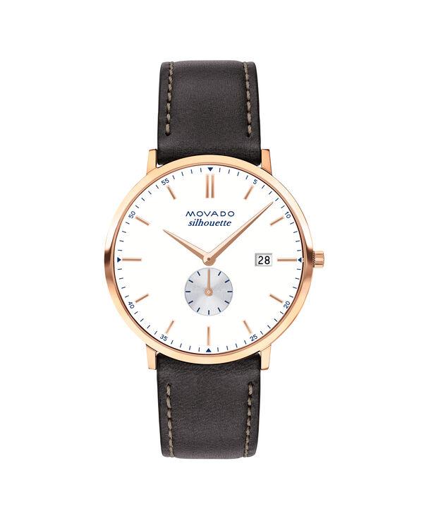 MOVADO Movado Heritage Series3650068 – Men's 40 mm strap watch - Front view