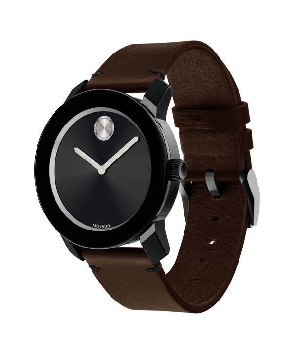 MOVADO Movado BOLD3600443 – 42mm Colorado leather strap watch - Side view