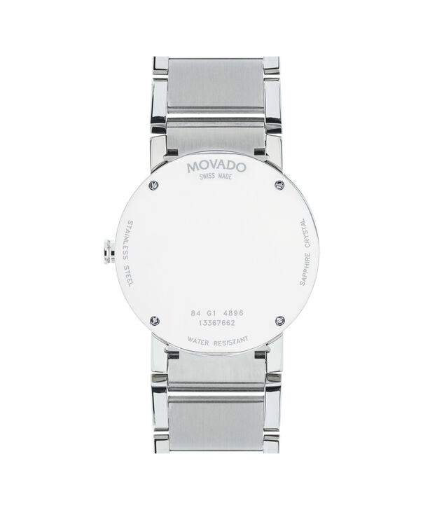 MOVADO Sapphire0606093 – Men's 38 mm bracelet watch - Back view