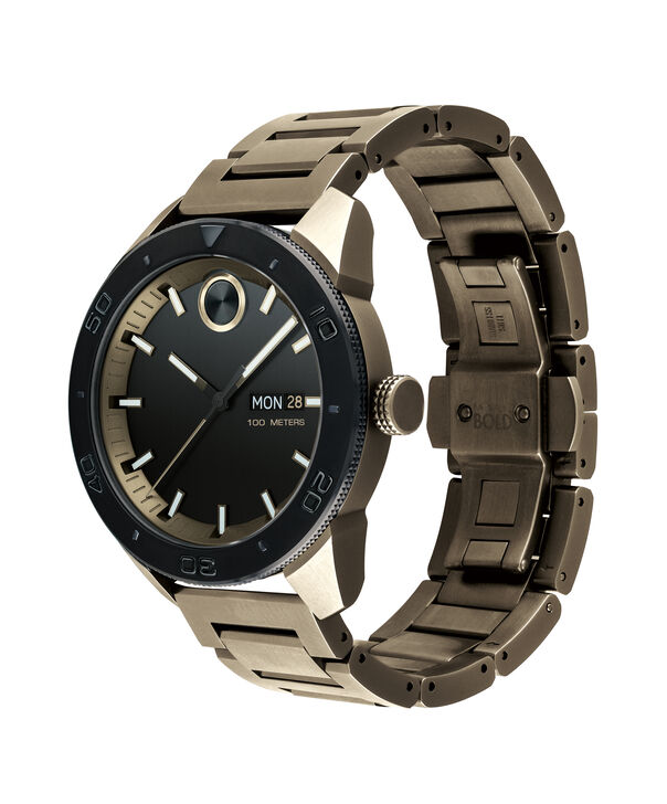 MOVADO Movado BOLD3600511 – 43.5 mm BOLD Sport bracelet watch - Side view
