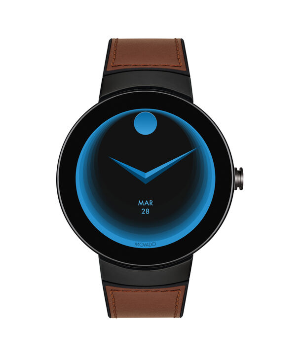 MOVADO Movado Connect3660019 – 46.5 mm display smartwatch - Side view