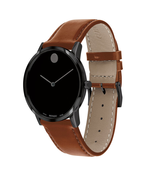 MOVADO Museum Classic0607321 – Men's 40 mm strap watch - Side view