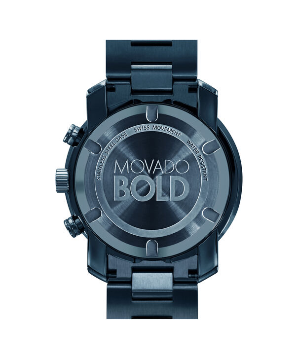 MOVADO Movado BOLD3600279 – 44 mm Metals bracelet chronograph - Back view