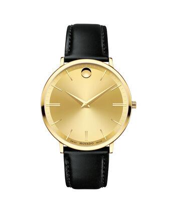 MOVADO Movado Ultra Slim0607156 – Men's 40 mm strap watch - Front view