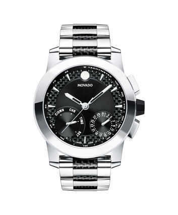 MOVADO Vizio0607030 – Men's 45 mm mechatronic chrono - Front view