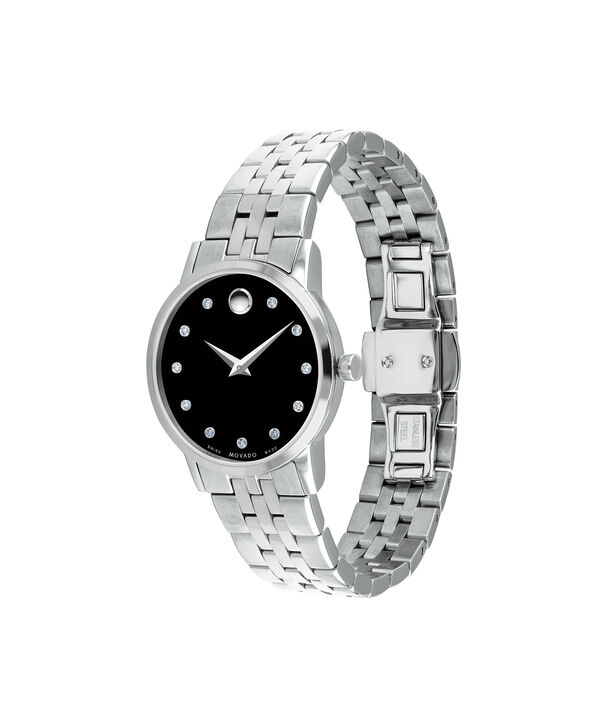 MOVADO Museum Classic0607207 – Women's 28 mm bracelet watch - Side view
