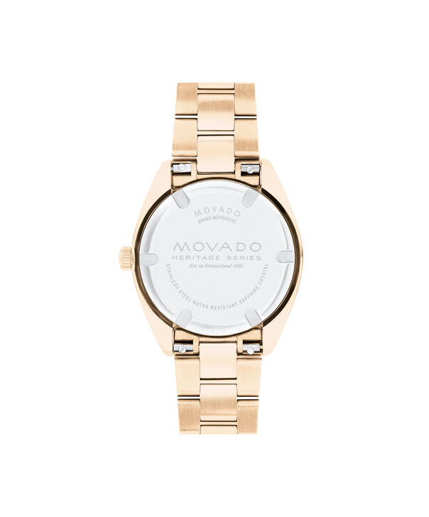 MOVADO Movado Heritage Series3650079 – Women's 31 mm bracelet watch - Back view