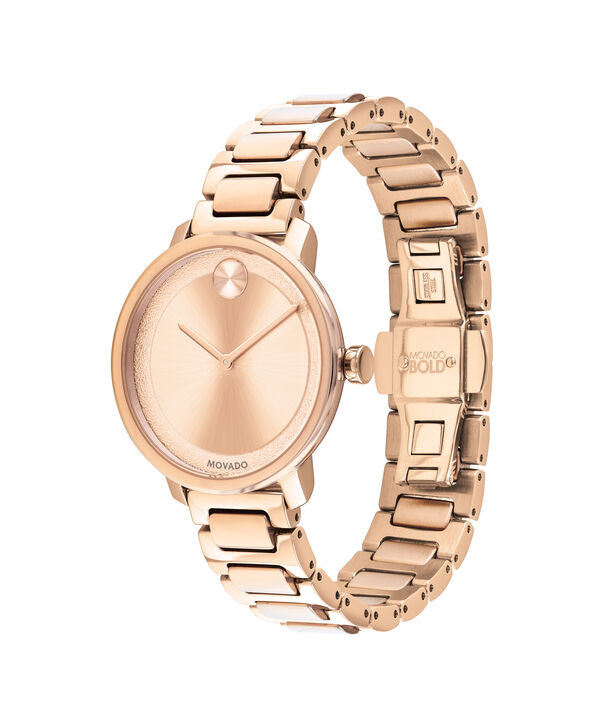 MOVADO Movado BOLD3600503 – 34 mm Metals bracelet watch - Side view