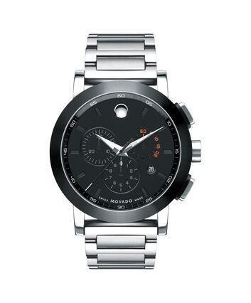 MOVADO Museum Sport0606792 – Men's 44 mm bracelet chronograph - Front view