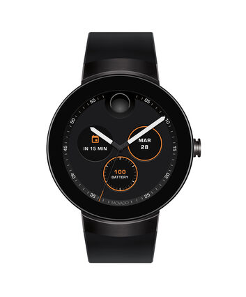 MOVADO Movado Connect3660018 – 46.5 mm display smartwatch - Front view