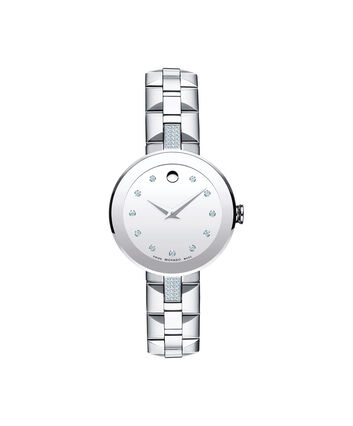 MOVADO Sapphire0606815 – Women's 28 mm bracelet watch - Front view