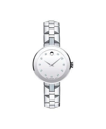MOVADO Sapphire0607193 – Women's 28 mm bracelet watch - Front view