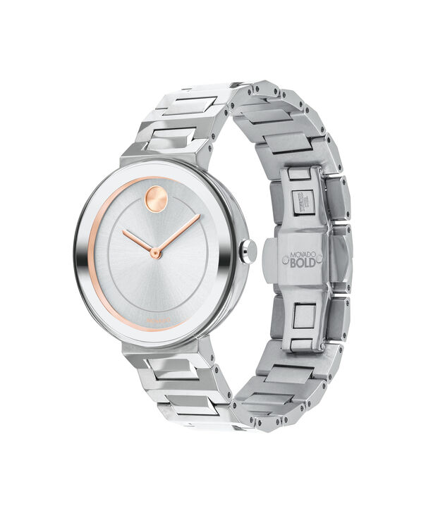MOVADO Movado BOLD3600497 – 34 mm Metals bracelet watch - Side view