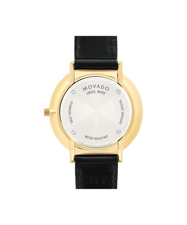 MOVADO Movado Ultra Slim0607091 – Mid-Size 35 mm strap watch - Back view