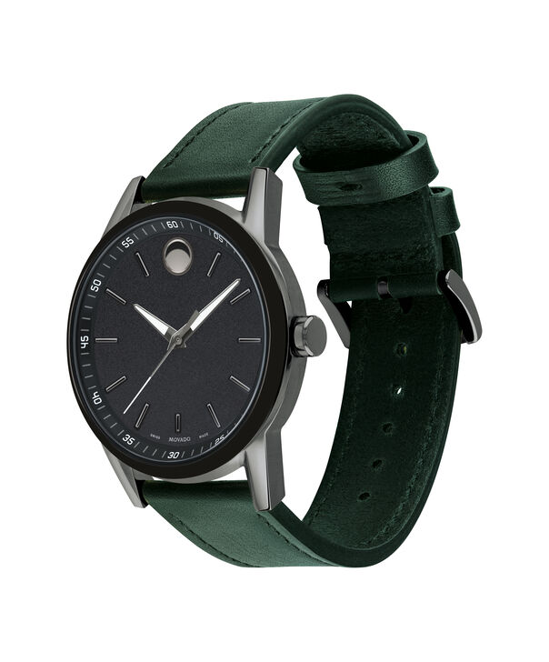 MOVADO Museum Sport0607264 – Men's 42 mm strap watch - Side view