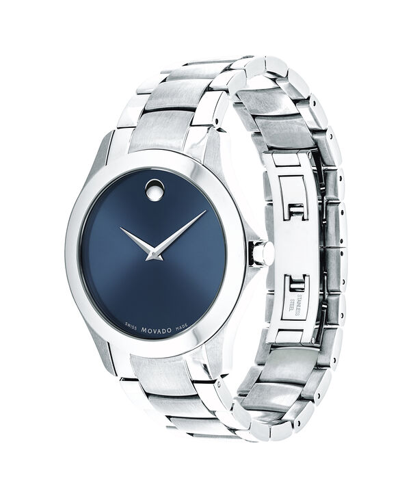 MOVADO Masino0607033 – Men's 40 mm bracelet watch - Side view