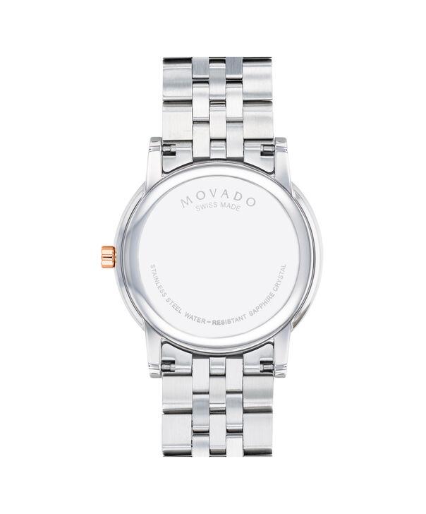 MOVADO Museum Classic0607267 – Men's 40 mm bracelet watch - Back view