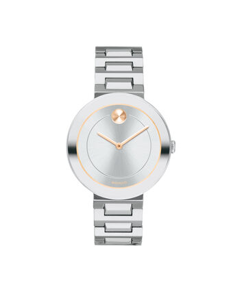 MOVADO Movado BOLD3600497 – 34 mm Metals bracelet watch - Front view