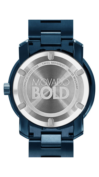 MOVADO Movado BOLD3600296 – 42.5 mm Metals bracelet watch - Back view