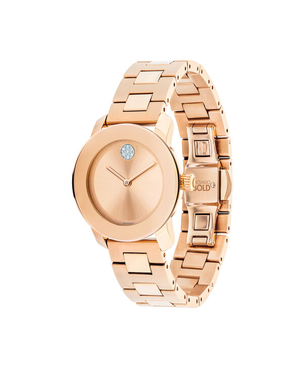 MOVADO Movado BOLD3600550 – 30 mm Metals bracelet watch - Side view