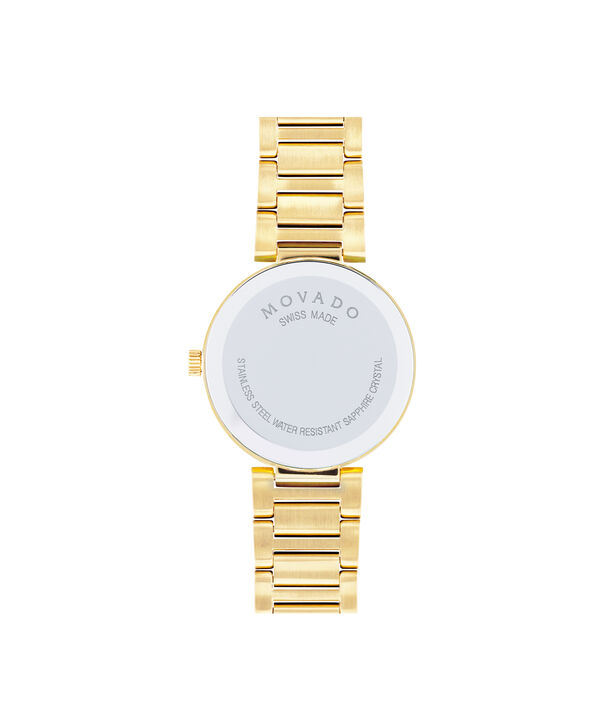 MOVADO Modern Classic0607105 – Women's 28 mm bracelet watch - Back view