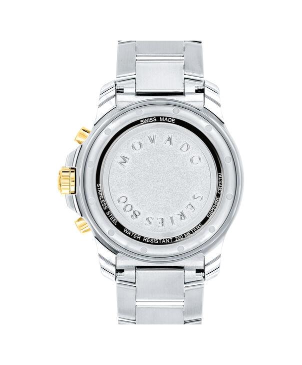 MOVADO Series 8002600148 – Men's 40 mm chronograph bracelet watch - Back view