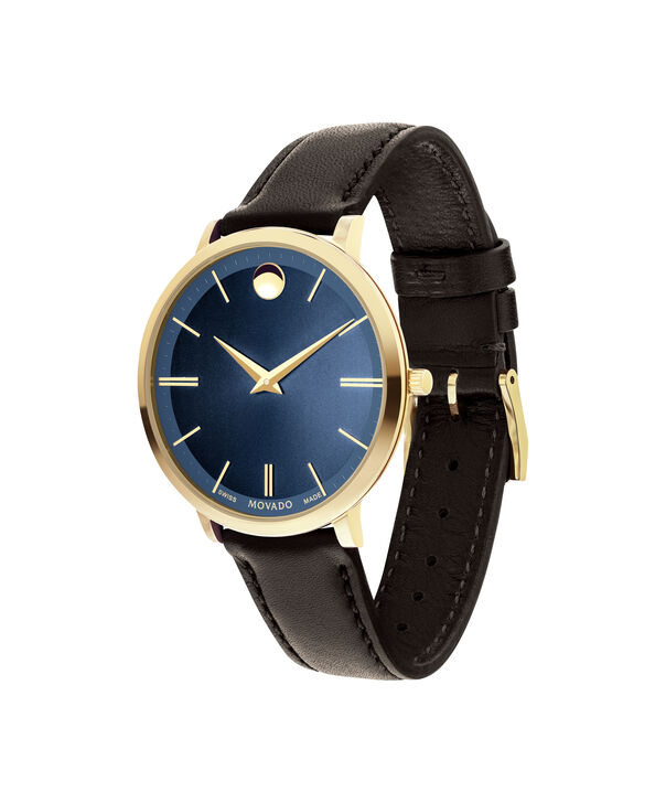 MOVADO Movado Ultra Slim0607092 – Mid-Size 35 mm strap watch - Side view