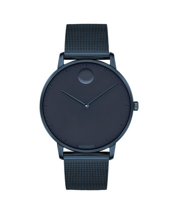 MOVADO Movado Face3640009 – Men's 41 mm bracelet watch - Front view