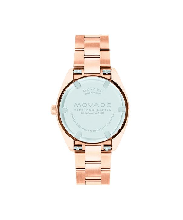 MOVADO Movado Heritage Series3650039 – Women's 31 mm bracelet watch - Back view