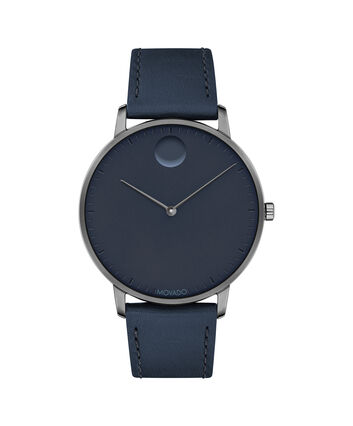 MOVADO Movado Face3640004 – Men's 41 mm strap watch - Front view